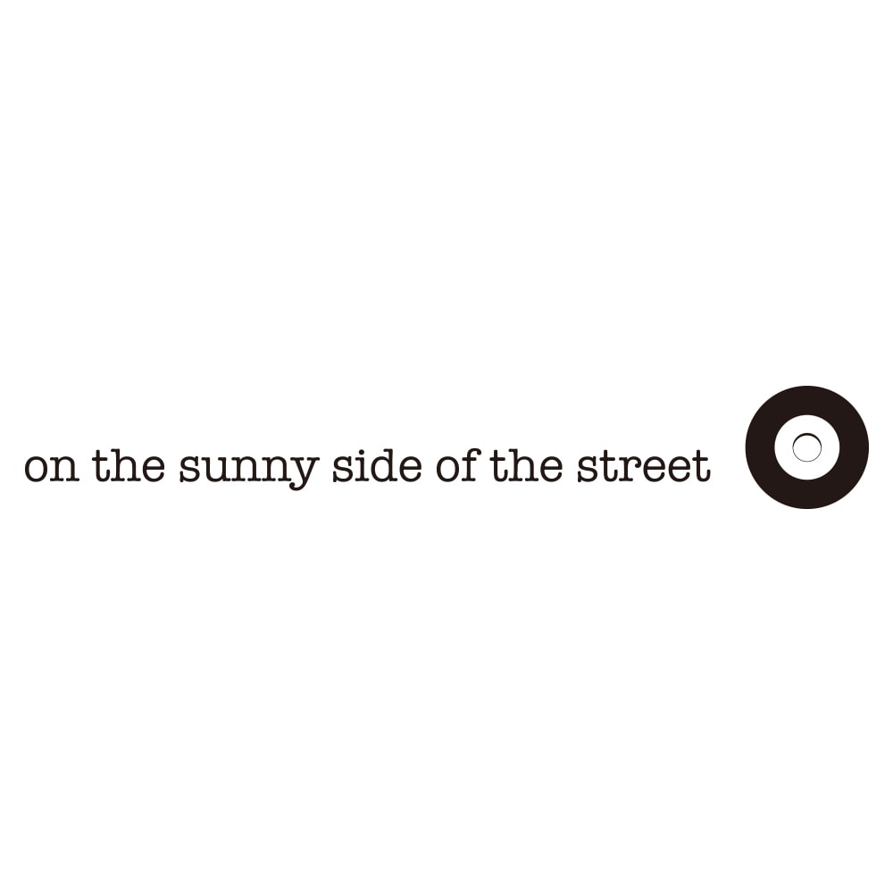 on the sunny side of the street/オン・ザ・サニーサイド・オブ・ザ・ストリート アンカーチェーン ブレスレット
