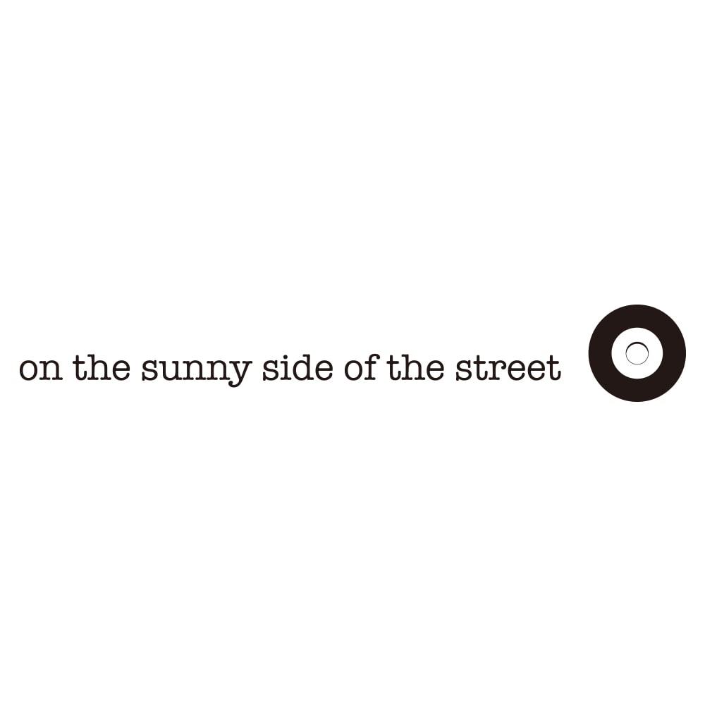 on the sunny side of the street/オン・ザ・サニーサイド・オブ・ザ・ストリート 水牛 カーブ バングル(ブラック)