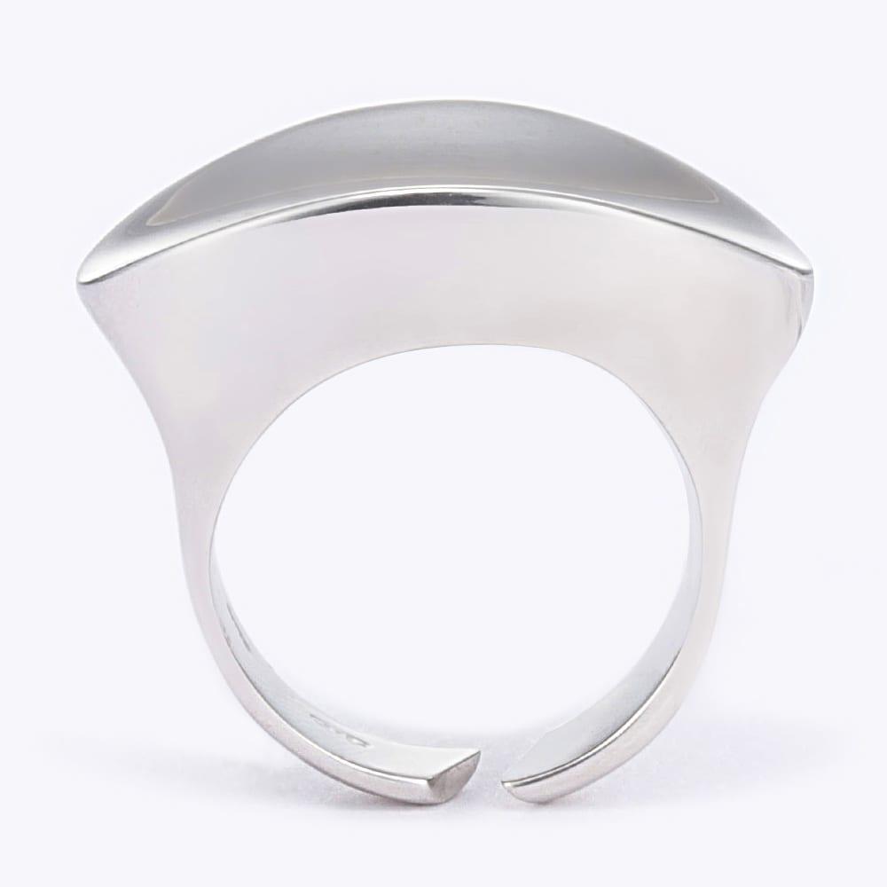 UNOAERRE/ウノアエレ SV デザイン リング(イタリア製) SIDE