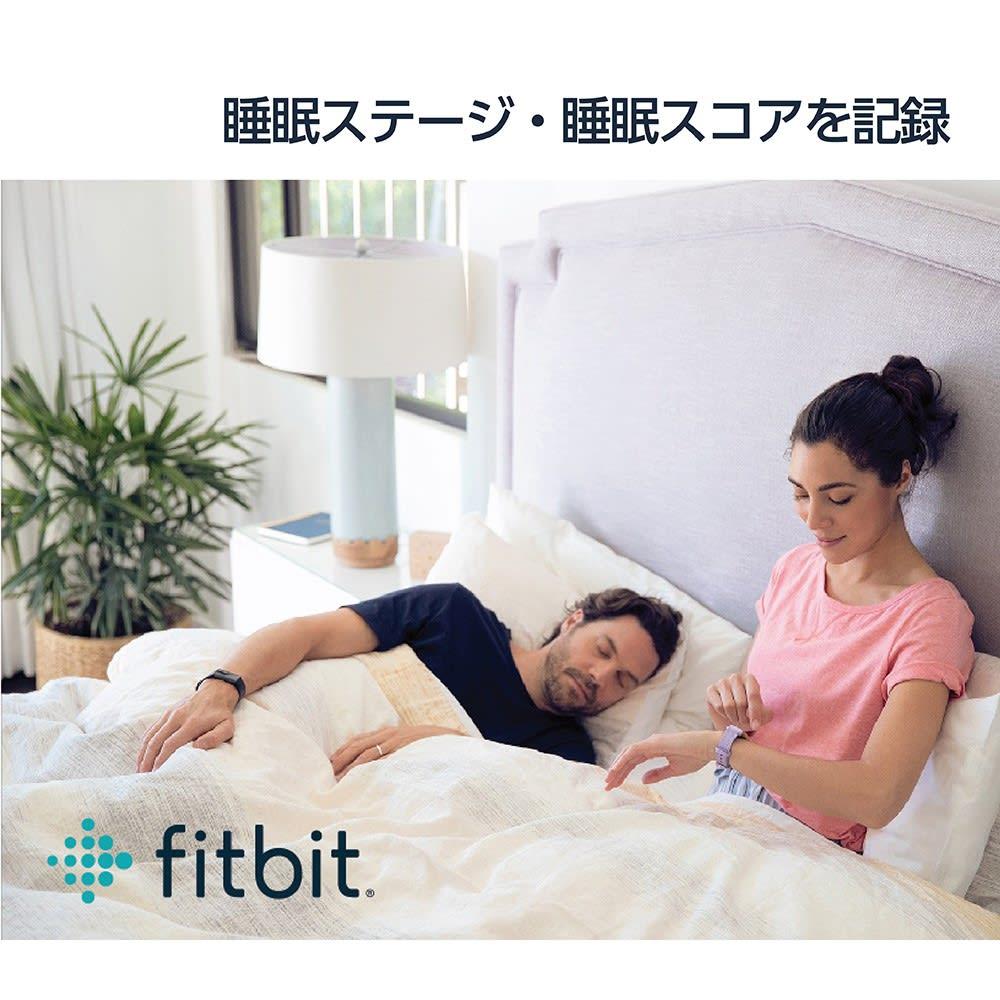 Fitbit/フィットビット Versa 2 替えベルト付き 睡眠ステージ・睡眠スコアを記録