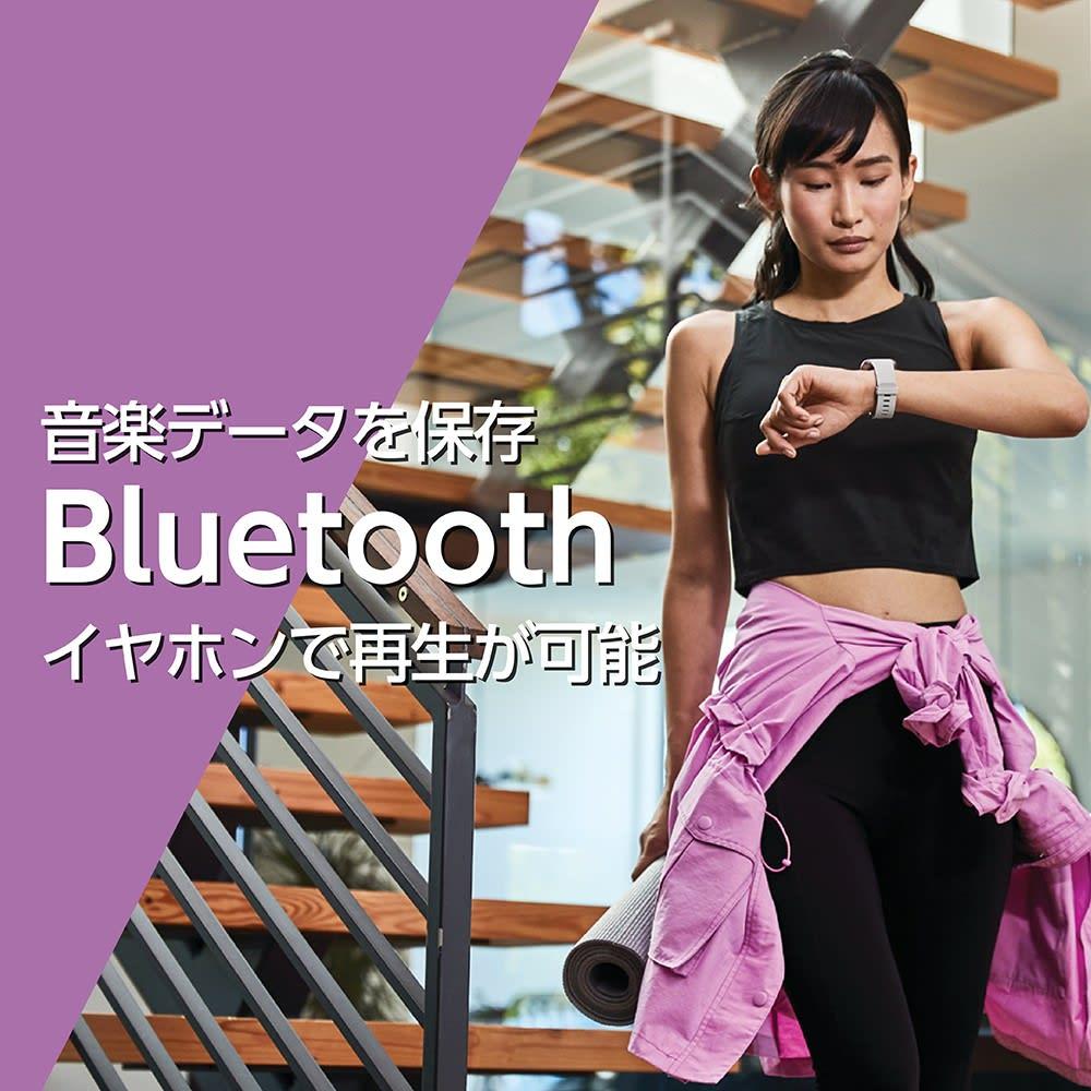 Fitbit/フィットビット Versa 2 替えベルト付き 音楽データを保存、Bluetoothイヤホンで再生が可能
