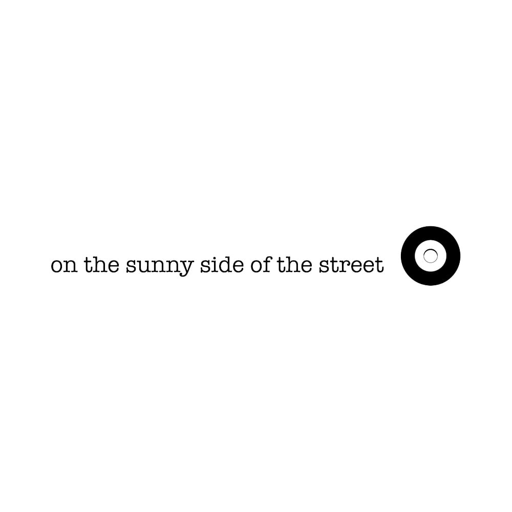 on the sunny side of the street/オン ザ サニーサイド オブ ザ ストリート チェーン ネックレス