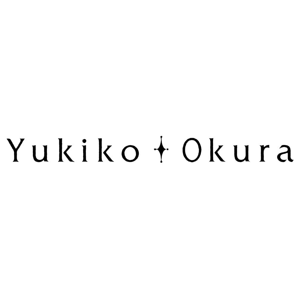 YUKIKO OKURA/ユキコ・オオクラ オオイソバナ珊瑚 半円イヤリング・ピアス
