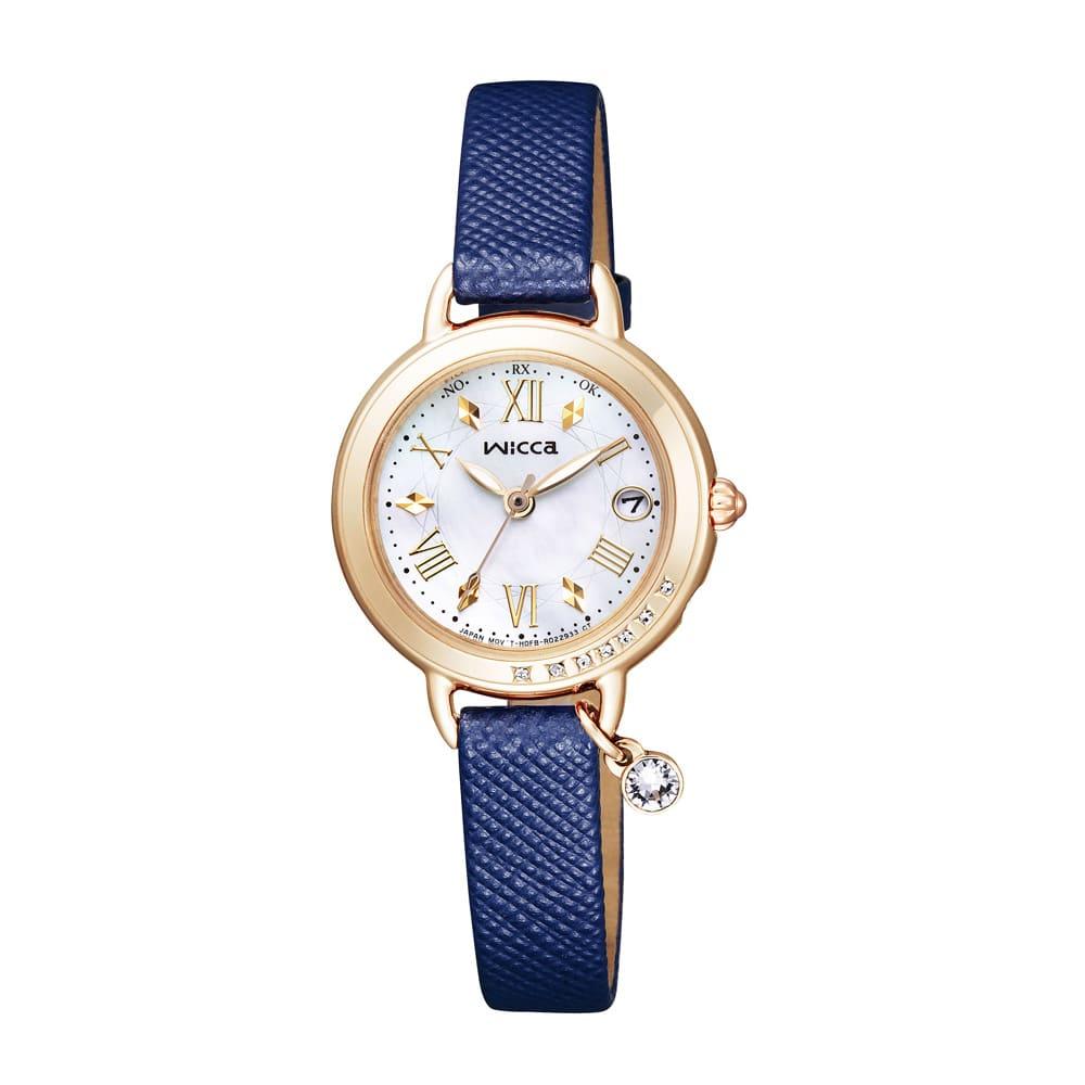CITIZEN/シチズン WICCA(ウィッカ) ソーラーテック電波時計 KL0-821-10 レディース ブルー レディース腕時計