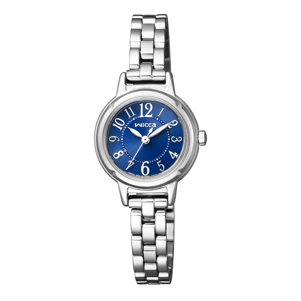 CITIZEN/シチズン WICCA(ウィッカ) ソーラーテック時計 KP3-619-71 シルバー 【通販】 【レディース・女性】