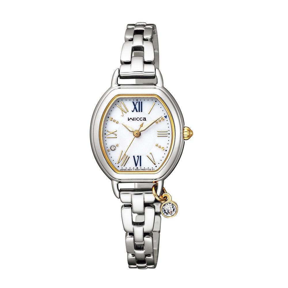 CITIZEN/シチズン WICCA(ウィッカ) ソーラーテック KP2-515-13 レディース シルバー レディース腕時計