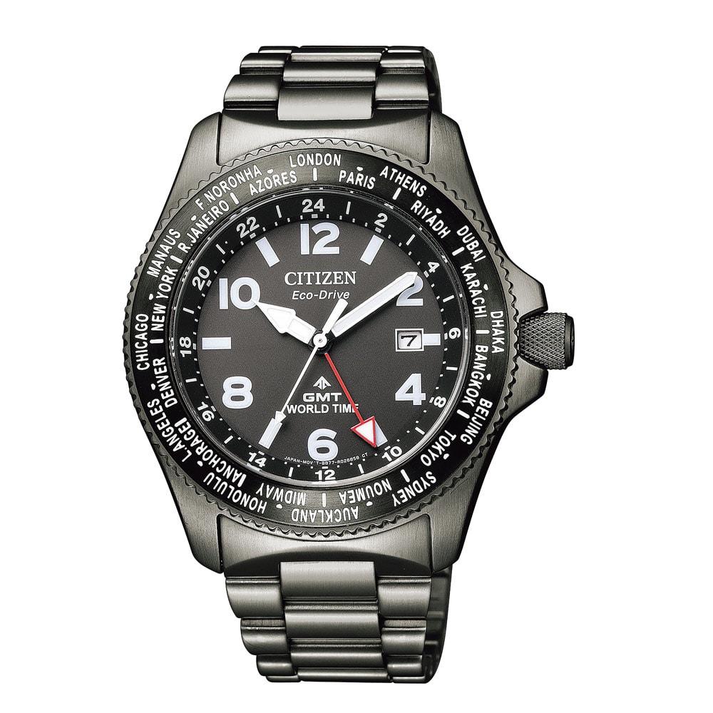 CITIZEN/シチズン PRPMASTER(プロマスター) エコ・ドライブ BJ7107-83E レディース ブラック レディース腕時計