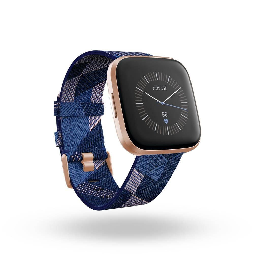 Fitbit/フィットビット Versa 2 替えベルト付き (イ)ブルー系
