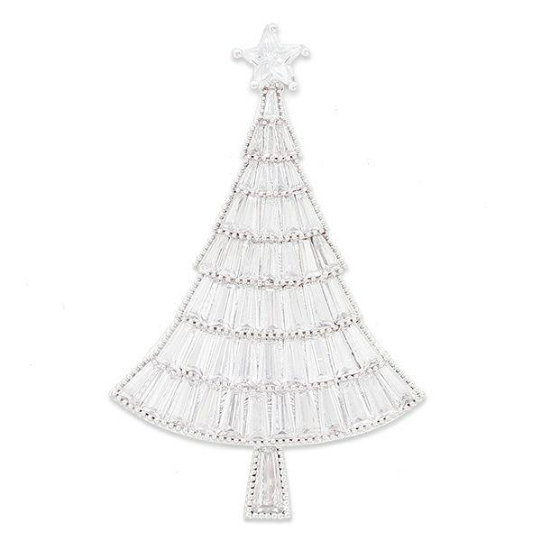 ABISTE/アビステ クリスマスツリー ブローチ 【A】 レディース シルバーカラー/ピンクゴールドカラー コサージュ・ブローチ