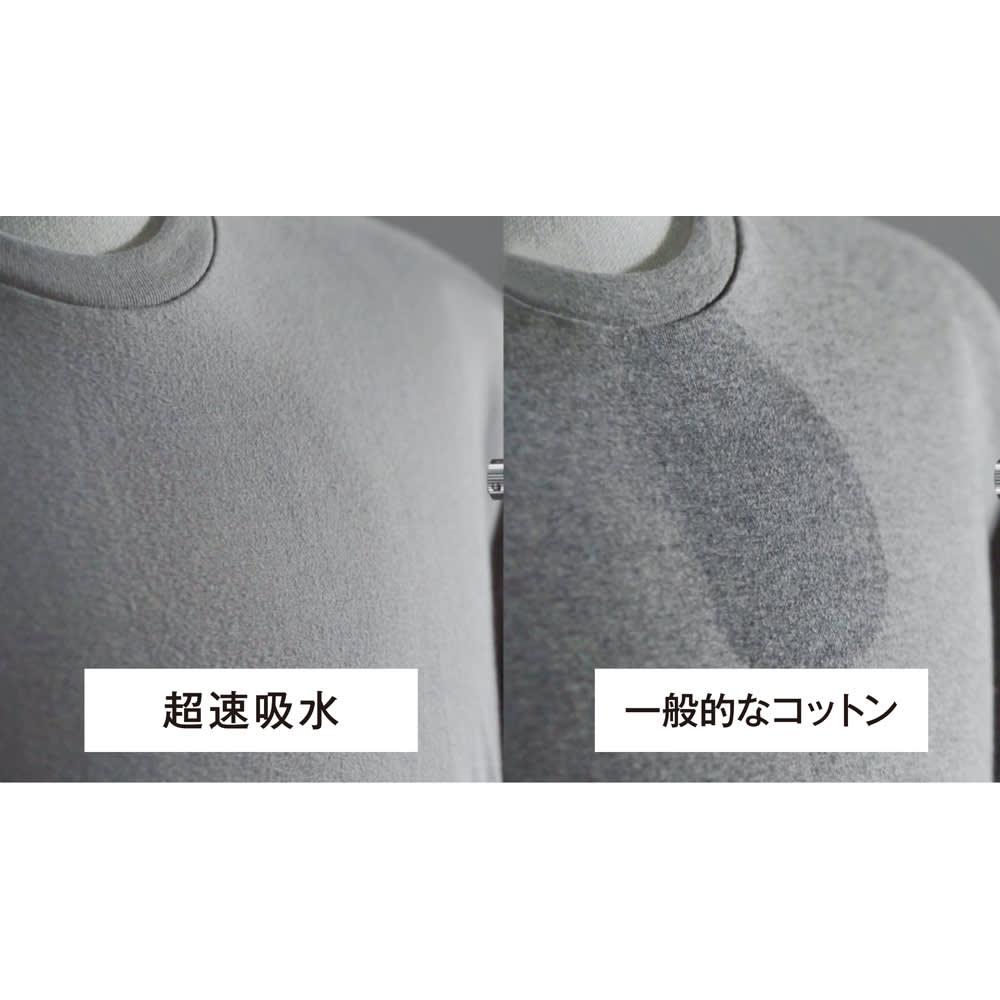 GUNZE/グンゼ YG(ワイジー)超速吸水Tシャツ 同色3枚組シリーズ クルーネック(サイズM)