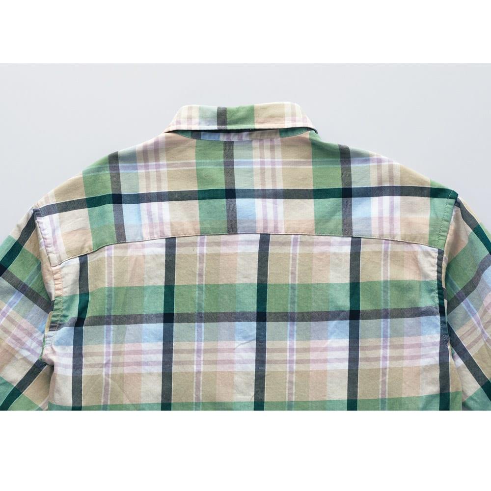 Lee/リー チェックロングシャツ