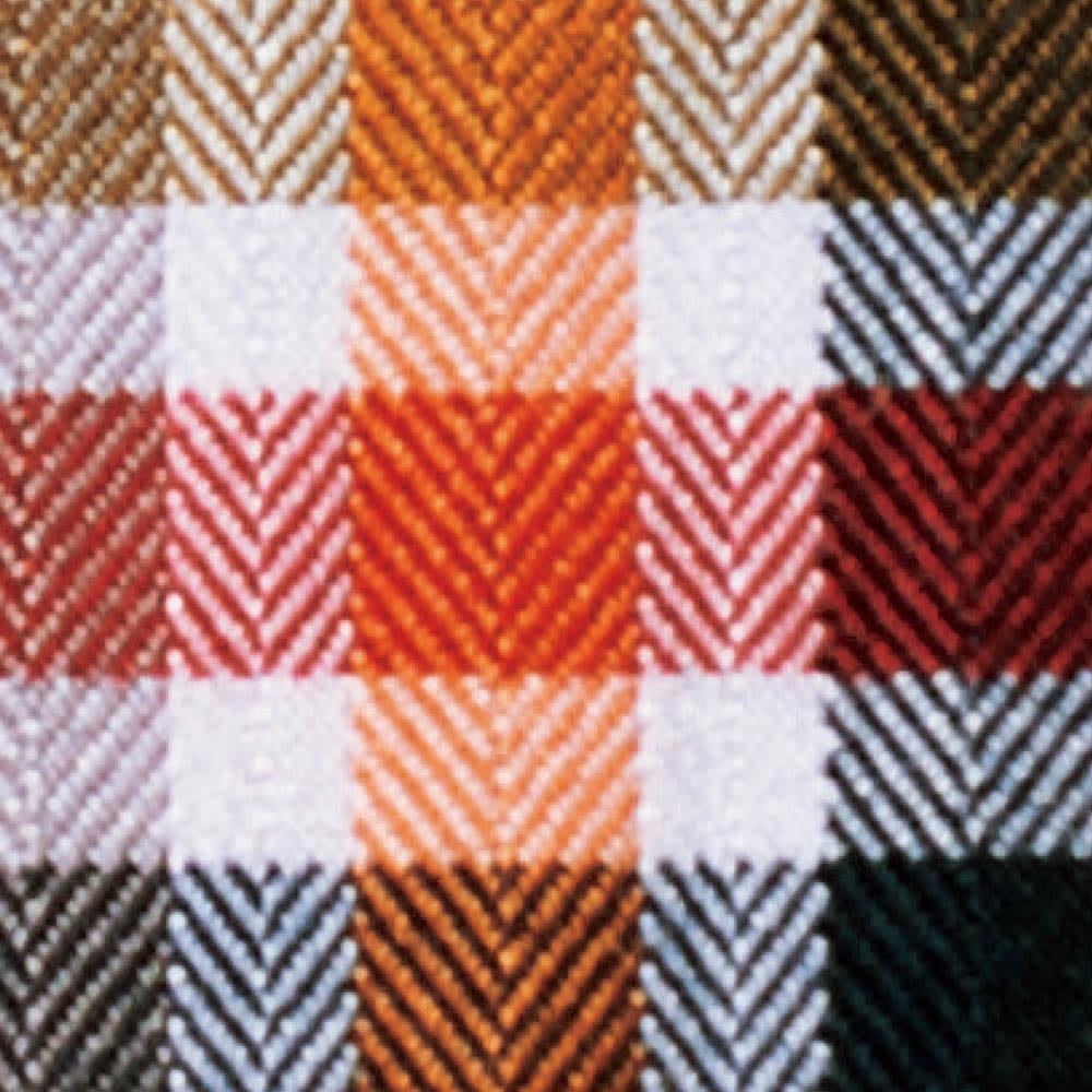 SCENE/シーン ジャパンメイド ヘリンボーン チェック シャツ スリム 繊細なヘリンボーン織りでチェック柄を表現。