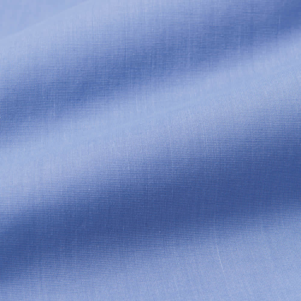 100番双糸 GIZAコットン ワイドカラー ワイシャツ しなやかで、光沢があり、ソフトな風合いが特徴の、エジプト産超長綿GIZAコットンを使用。