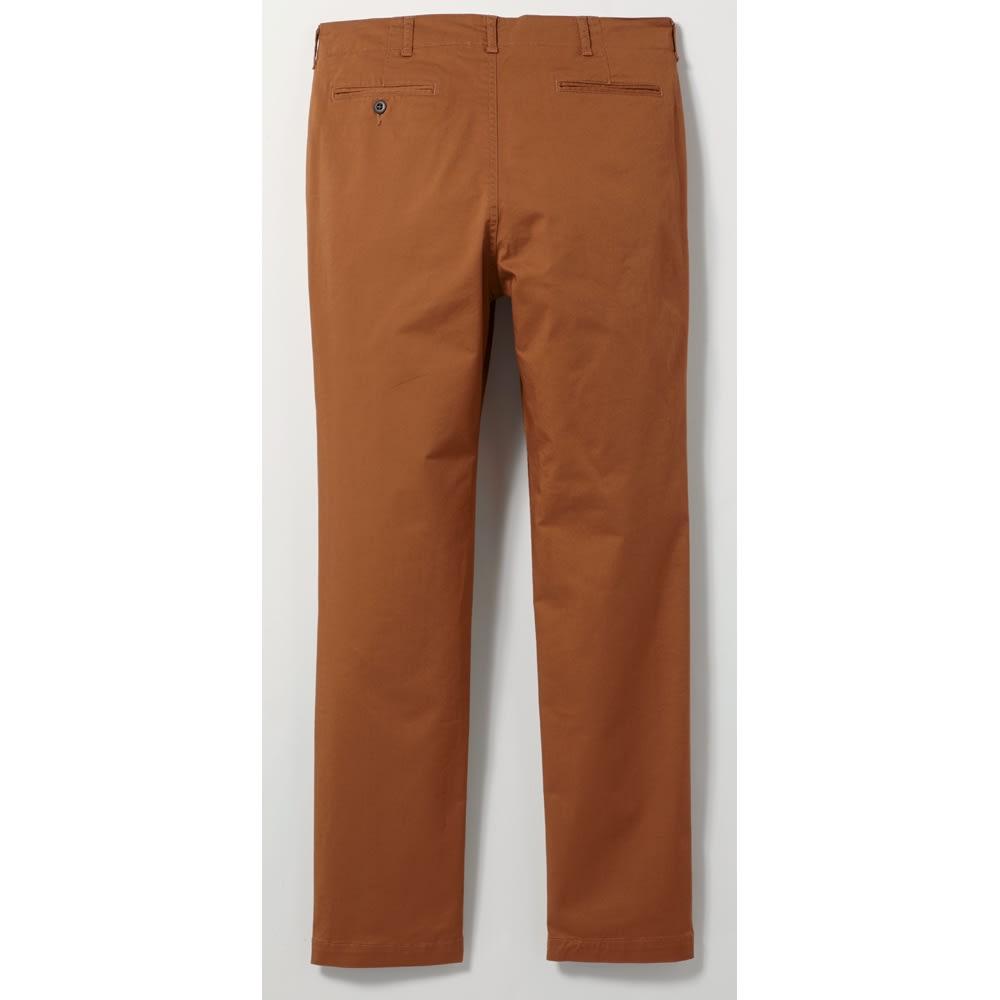 (股下丈76cm) ジャパンメイドヴィンテージ テーパードチノパンツ Back Style ※今回こちらのお色の販売はございません。参考画像です。