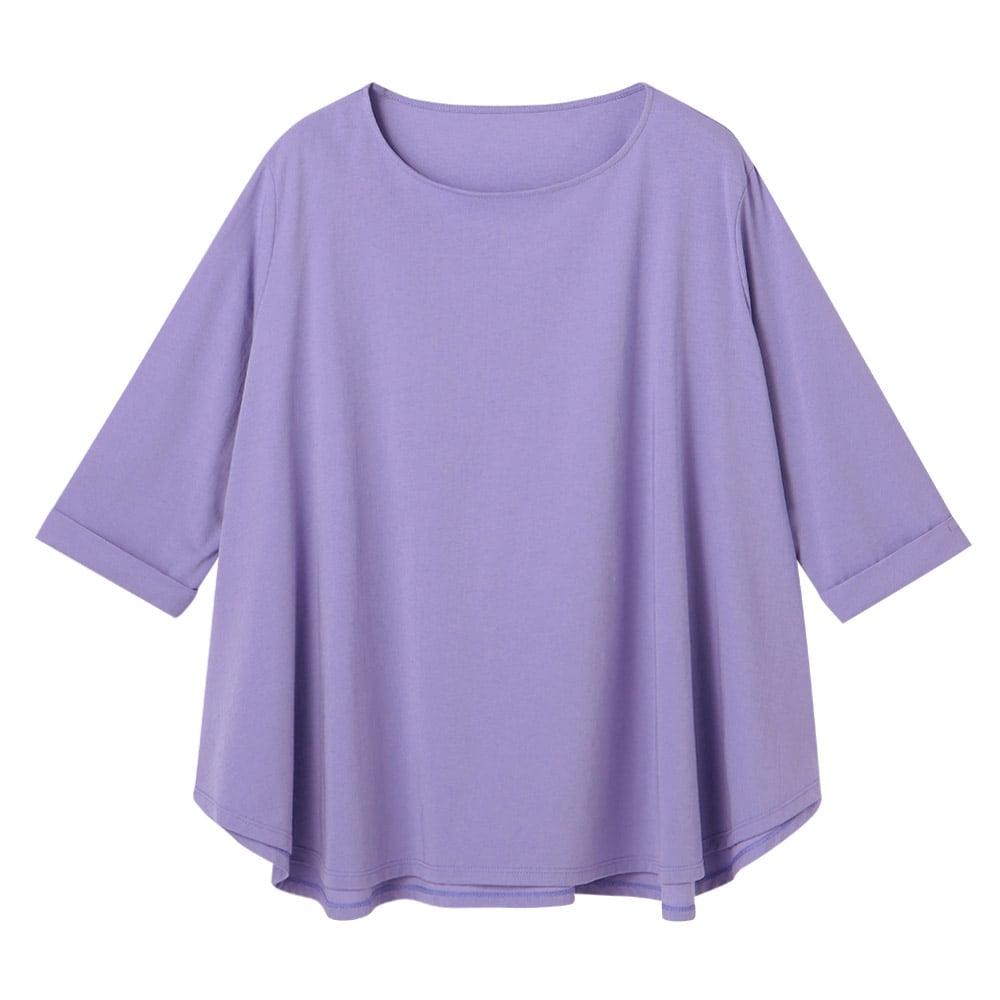 (再入荷)インド超長綿 オーバーサイズ プルオーバー (イ)オレンジ 生地アップ