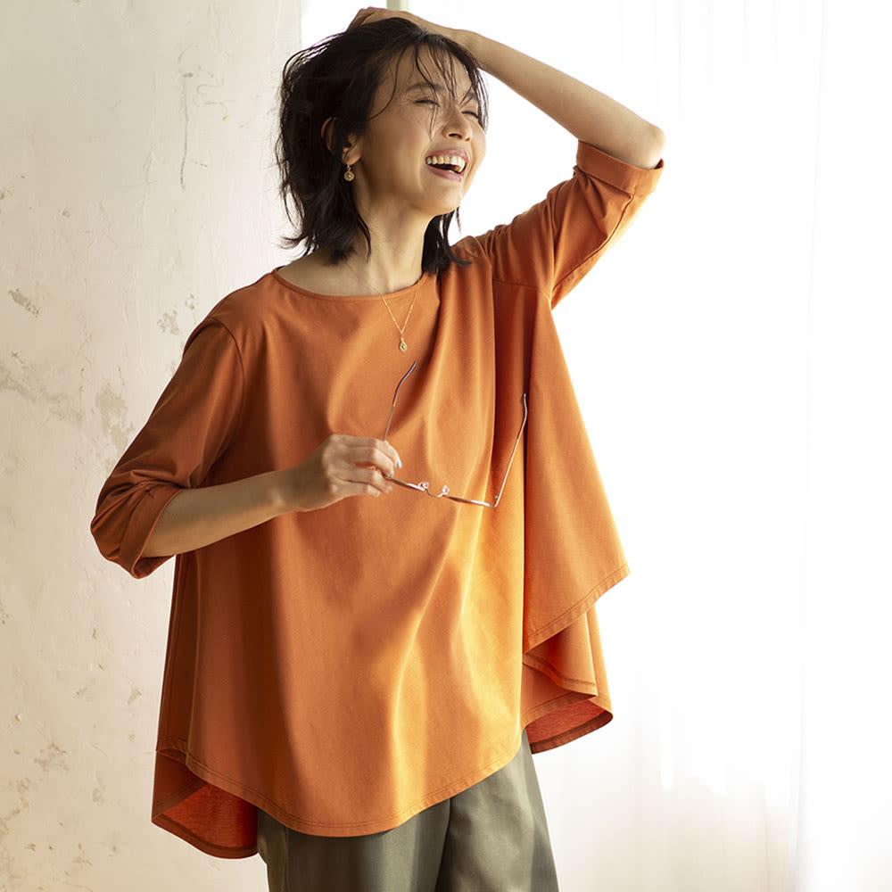 YUKIKO OKURA/ユキコ・オオクラ K18 ブラウンダイヤ ドロップ ピアス コーディネート例