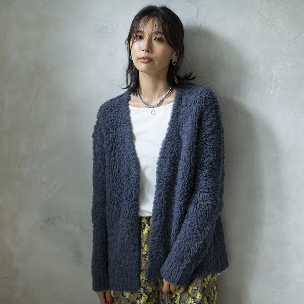 YUKIKO OKURA/ユキコ・オオクラ SV シリマナイト クォーツヘッド付き ネックレス コーディネート例