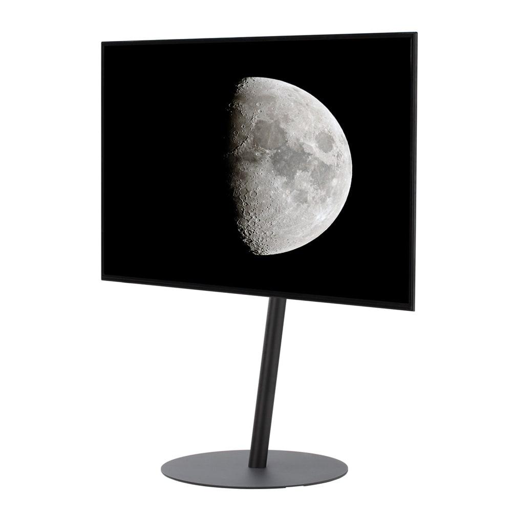 【レンタル商品】スマートテレビスタンド ラージタイプ(45~65V対応) (ウ)ブラック