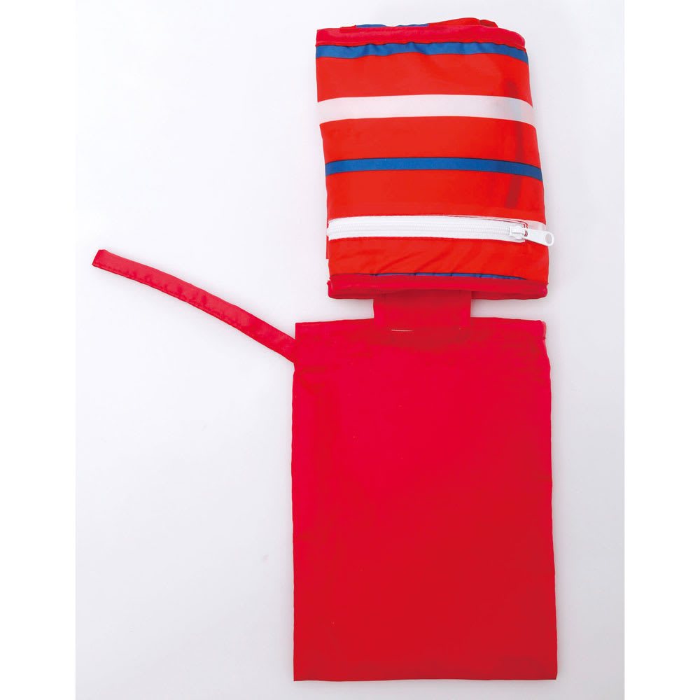 抱っこもできるお食事ベルト スタイ付き 折りたたんでポーチに入れれば