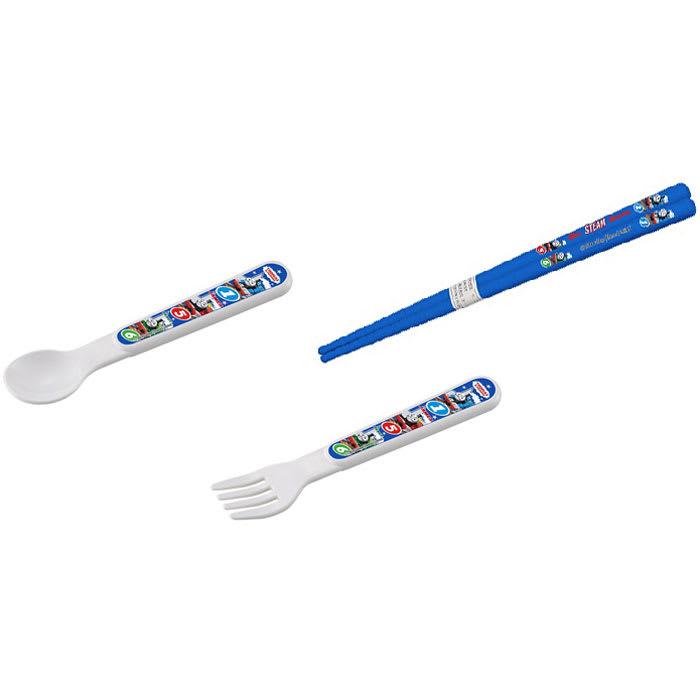 きかんしゃトーマス ランチ3点セット 引フタトリオはあると便利な箸・スプーン・フォークの3点セット。