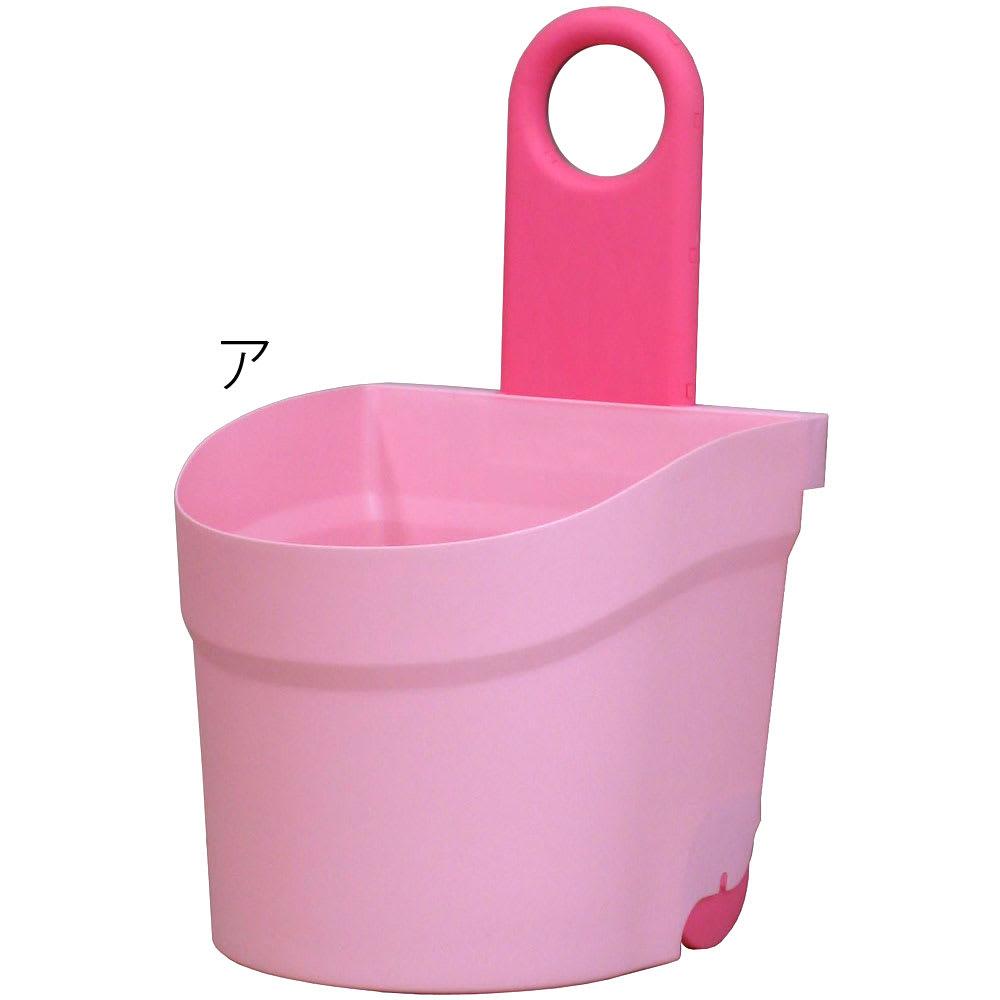 キャスター付おもちゃボックス (ア)ピンク
