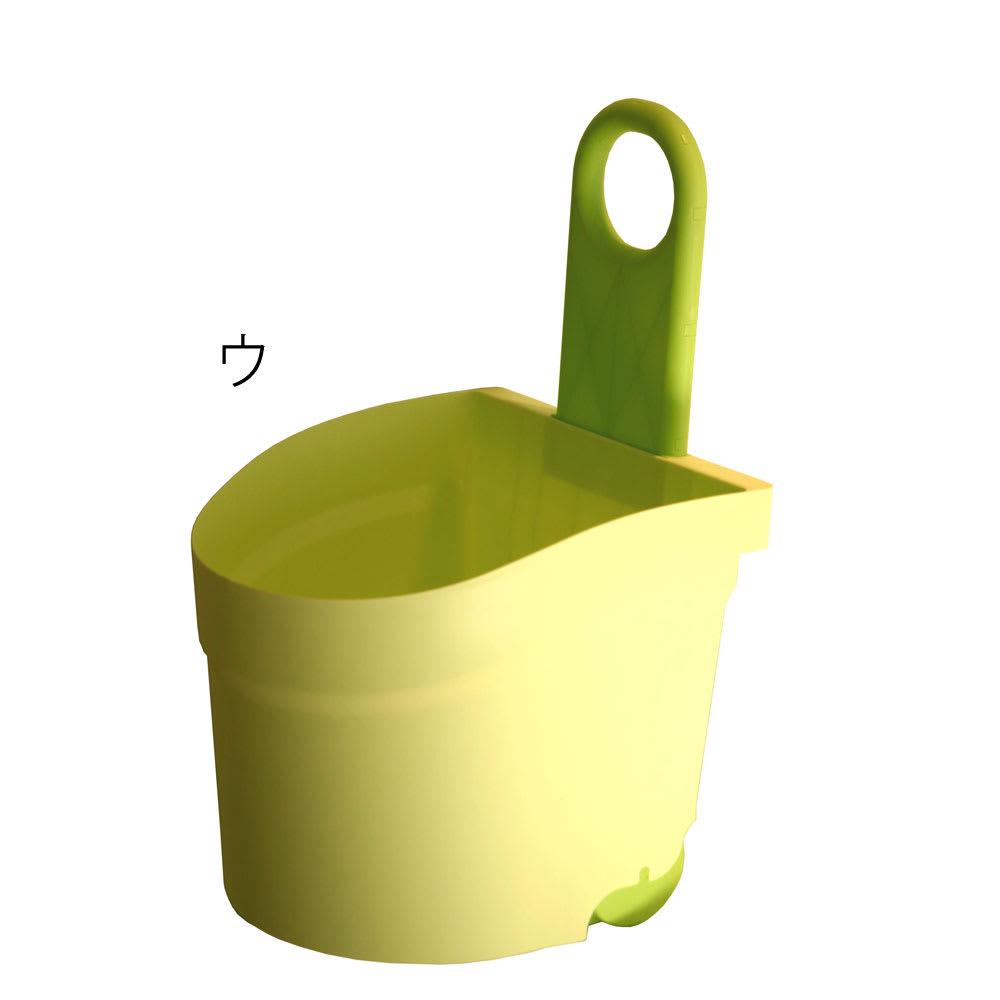 キャスター付おもちゃボックス (ウ)グリーン