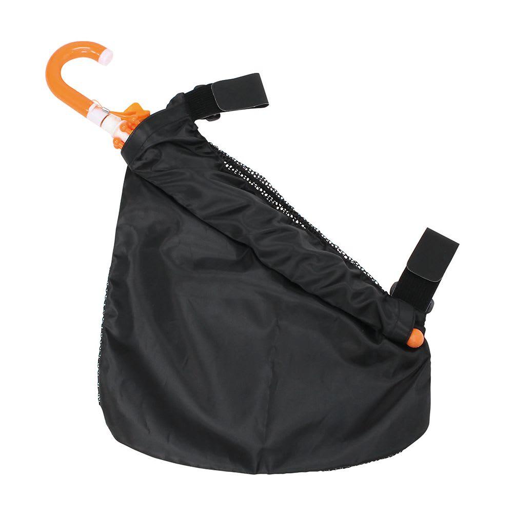 ベビーカーサイドポケット(傘ホルダー付) 裏側に傘ポケット付!