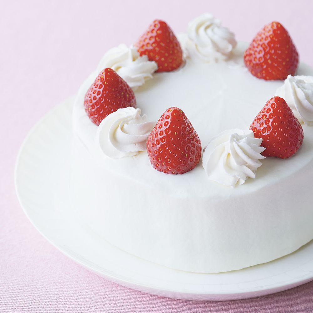 アルミフッ素加工のホールケーキ型 底取れ式 15cm ※使用イメージ