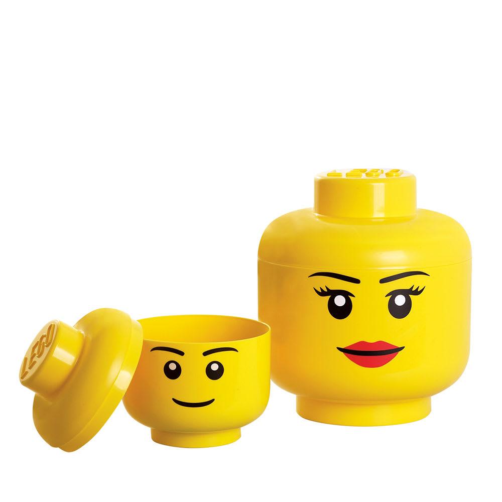 LEGO/レゴ ストレージヘッド Lサイズ ※Mサイズは商品番号:N399-63になります。