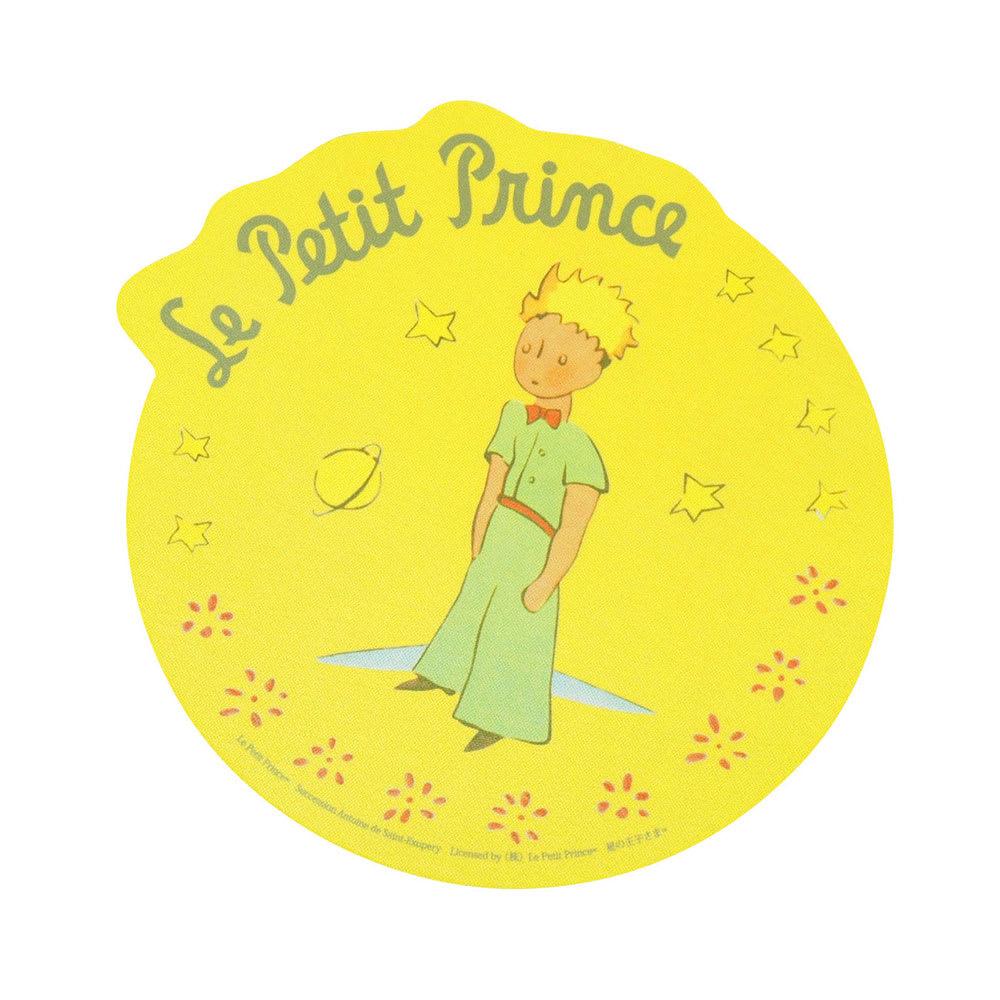 星の王子さま ダイカットマウスパッド 名入れなし (イ)星の王子さまマスタード