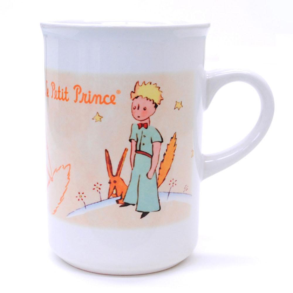星の王子さま カップ3客セット 王子さまとキツネの絵柄のカップ