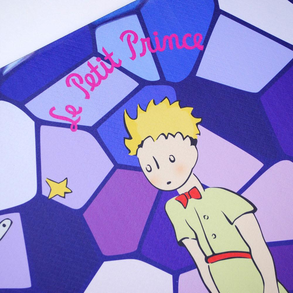 星の王子さま 低反発マルチマット 汚れたときなども、サッと拭き取れて、サラサラ!衛生的です。