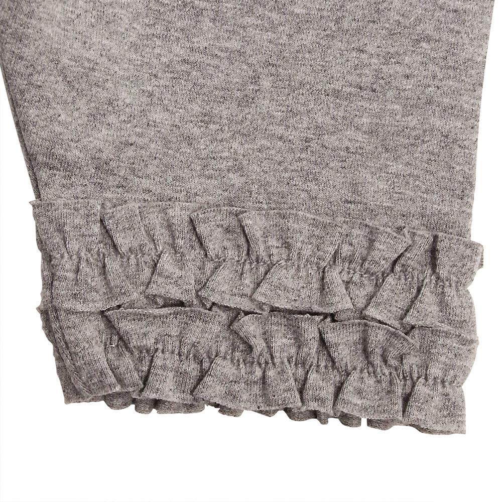 miki HOUSE(ミキハウス)/裾フリルレギンス風6分丈パンツ(80-130cm) 裾のフリル
