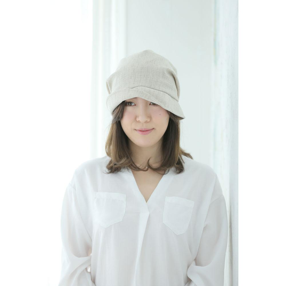 ORIHARA STYLE(オリハラスタイル)/女優帽 つば片上げ