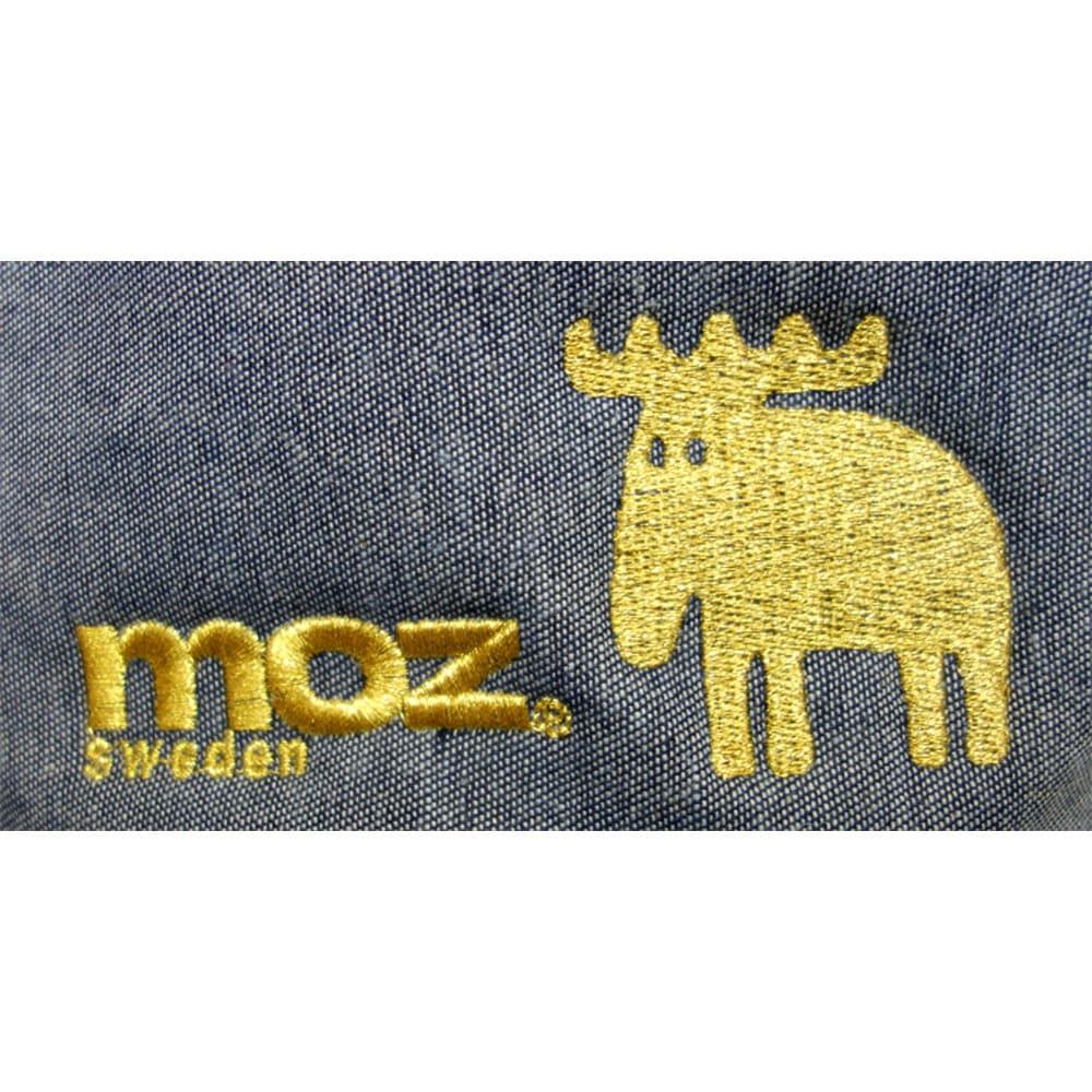 moz(モズ)/デニムストレージ ラウンド Sサイズ|エルク (イ)ゴールド