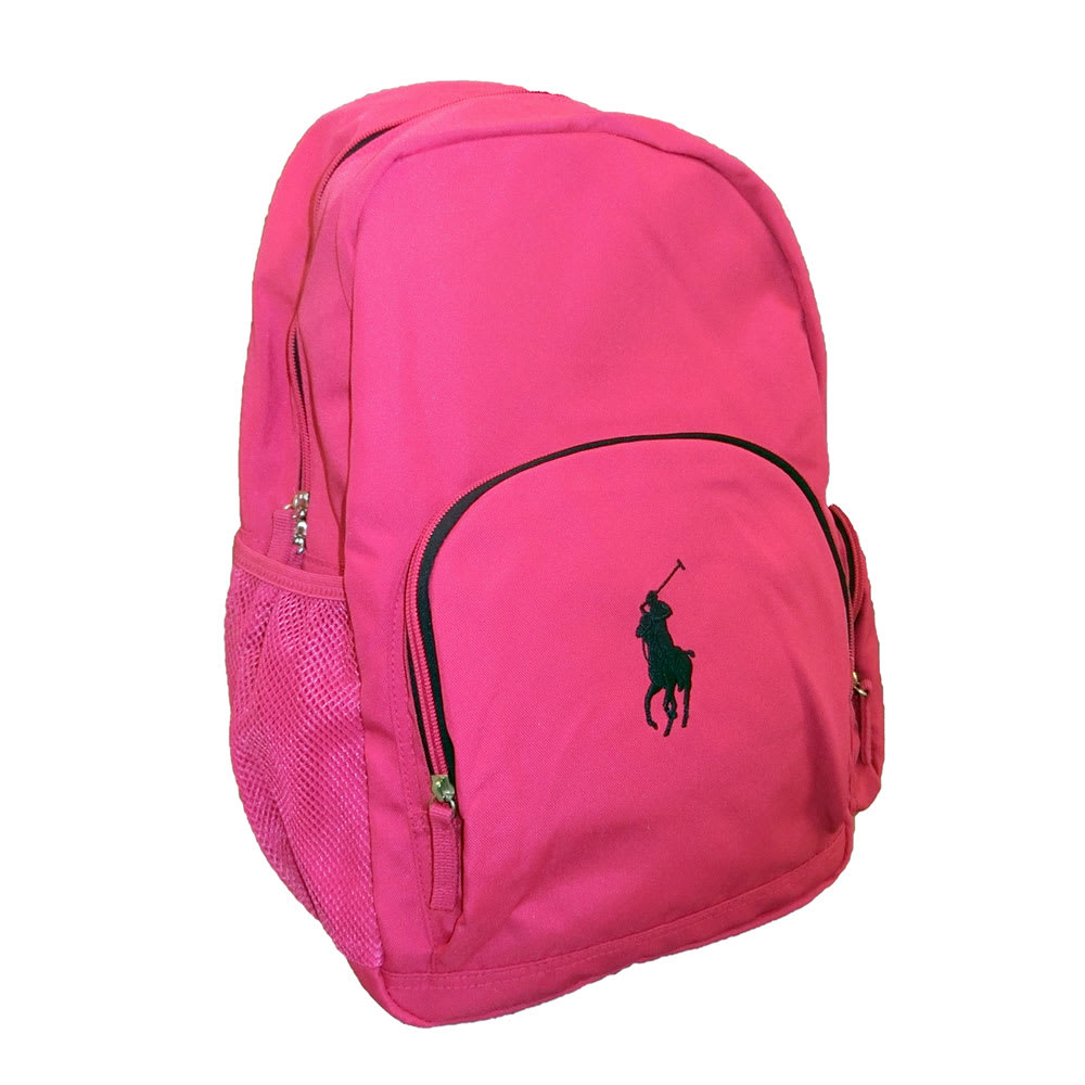POLO RALPHLAUREN(ポロラルフローレン)/CAMPUS BACKPACK(キャンパス バックパック) リュック (ア)ピンク