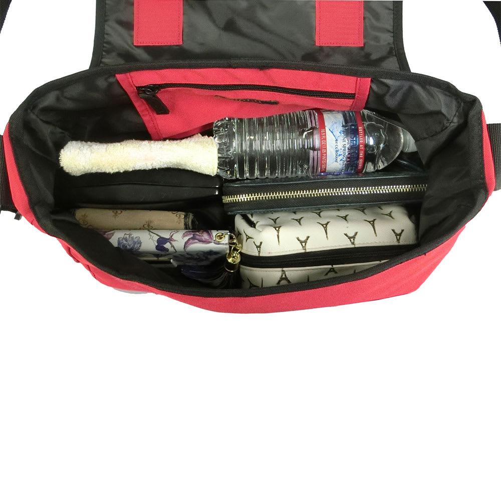 POLO RALPHLAUREN(ポロラルフローレン)/SCHOOL MESSENGER(スクールメッセンジャー)バッグ Inside/使用イメージ