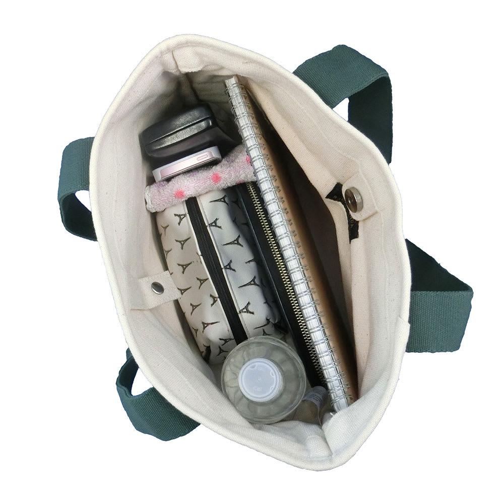 POLO RALPHLAUREN(ポロラルフローレン)/スクールトートバッグ Mサイズ Inside/使用イメージ