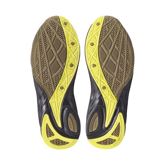 アキレス瞬足/376(19-23cm)|子供靴 (イ)左右非対称ソール