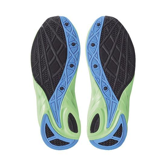 アキレス瞬足/377(19-23cm)|子供靴 (イ)左右非対称ソール