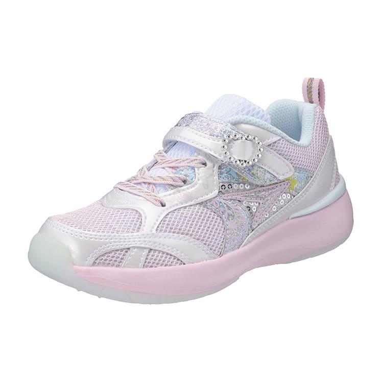 アキレス瞬足/レモンパイ 411(19-23cm)|子供靴 (ウ)ホワイト