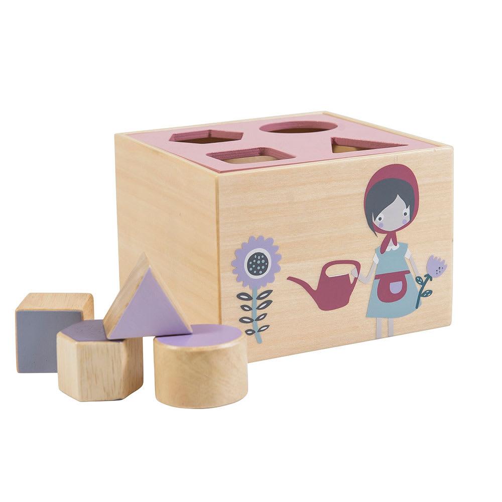sebra(セバ)/パズルブロックシェイプソーター|知育玩具 (イ)ガール