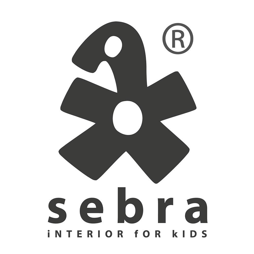 sebra(セバ)/アニマル柄スタイ2個セットスカイ