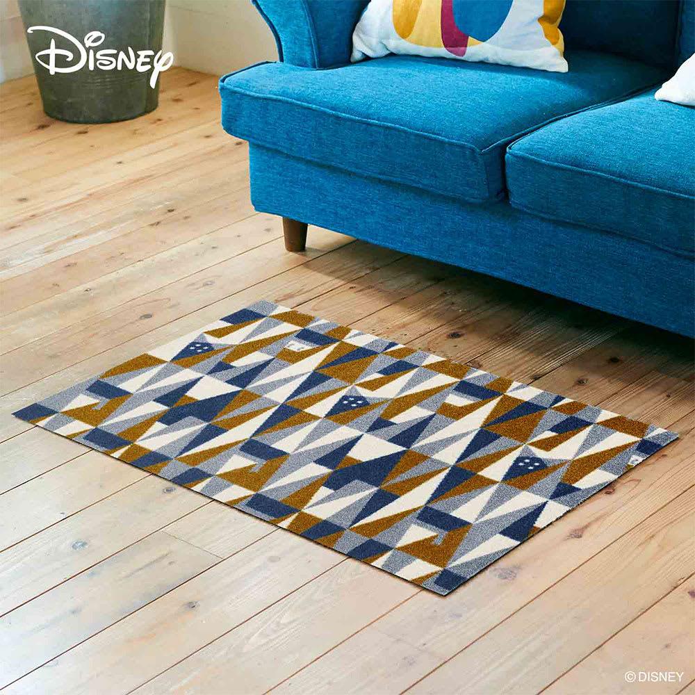 Donald(ドナルド)/玄関マット ジオメトリック 60×90cm|Disney(ディズニー)