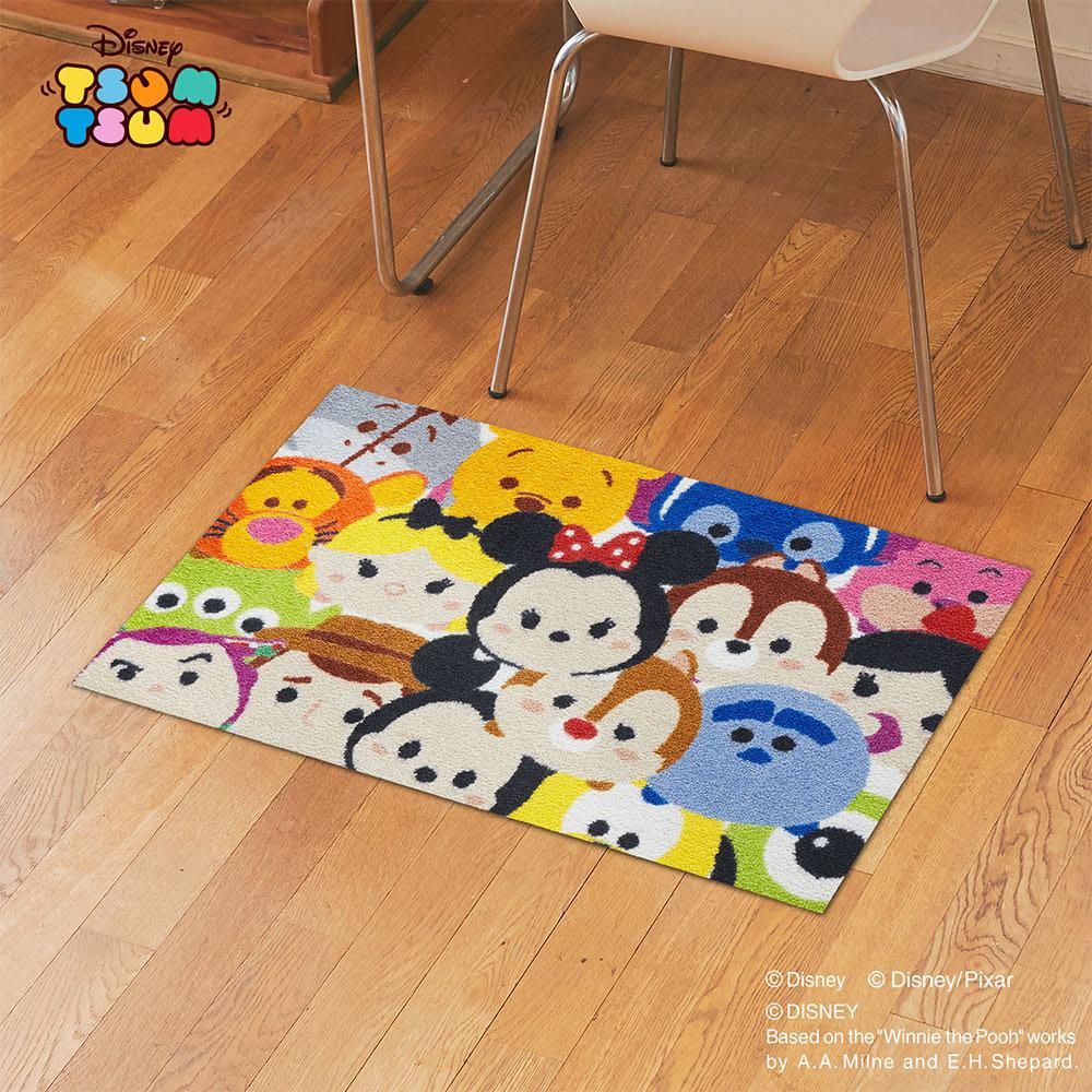 Tsum Tsum(ツムツム)/玄関マット 50×75cm|Disney(ディズニー)