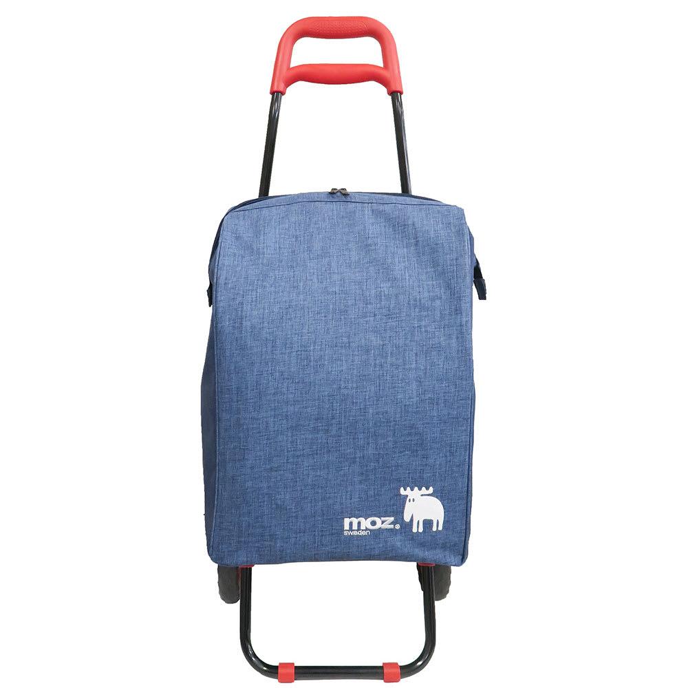 moz(モズ)/ショッピングキャリーバッグ|エルク Front/持ち手が2段になっているので、持ち運びやすい高さを選ぶことができます。