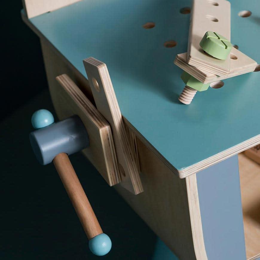 sebra(セバ)/ネジで遊ぶウッドツールセット|おもちゃ