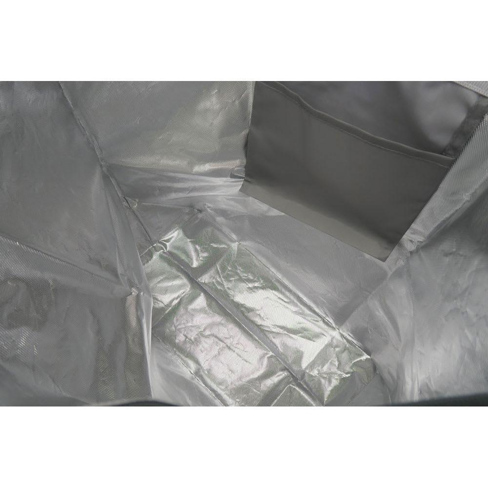 moz(モズ)/保冷機能付きショッピングトートバッグ エルク アルミシートを内側に貼り付けたショッピングバッグ