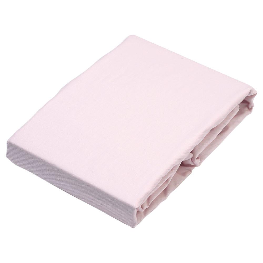 京都西川/ベッド用ボックスシーツ (ア)ピンク