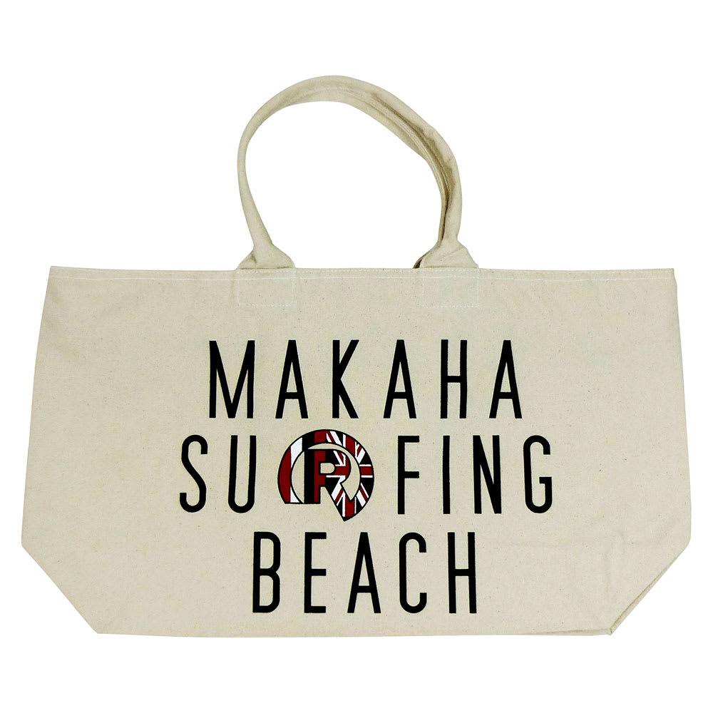 RealBvoice(リアルビーボイス)/HAWAII MAKAHA BEACH BAG|ビーチバッグ (ア)ホワイト